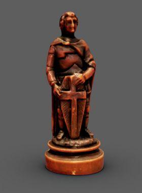 Rekonstruktion einer Schachfigur